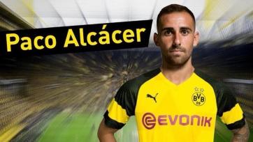 Официально: Пако Алькасер присоединился к «Боруссии»