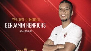 Официально: Хенрикс – игрок «Монако»
