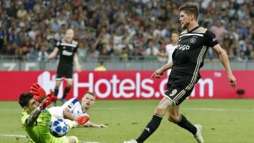 «Динамо» сыграло вничью с «Аяксом» и продолжит выступления в Лиге Европы