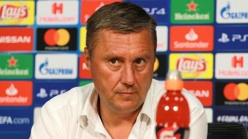 Хацкевич дал интервью после «ответки» с «Аяксом»