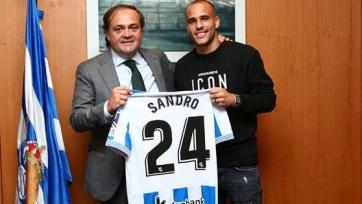 Официально: Сандро Рамирес присоединился к «Реалу Сосьедад»