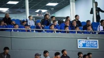 На матче «Астаны» присутствовали игроки сборной Казахстана