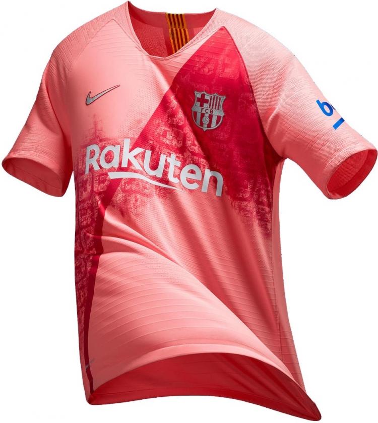 «Барселона» презентовала третью форму на сезон 2018/2019 (фото)