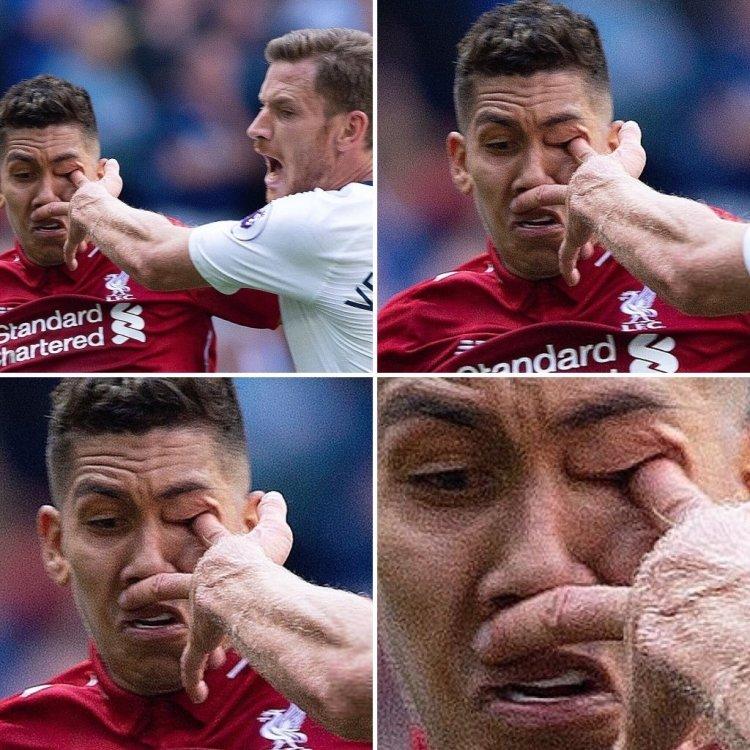 Вертонген травмировал глаз Фирмино