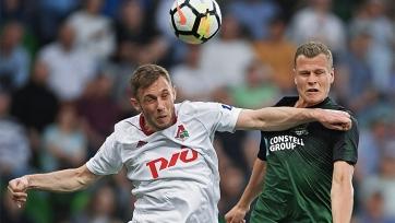 «Краснодар» вырвал победу в концовке матча с «Локомотивом»