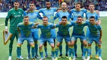 «Астана» опубликовала заявку на групповую стадию Лиги Европы