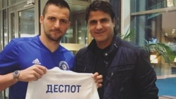 Деспотович дебютировал в РПЛ