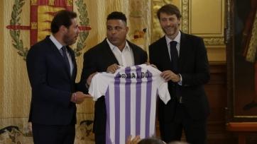 Официально: Роналдо – президент «Вальядолида»