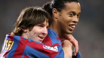 Роналдиньо: «Когда Месси покинет «Барселону», никто не сможет взять его 10-й номер»