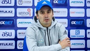 Тренер «Астаны» назвал фаворита своей группы в Лиге Европы