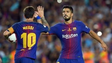 Месси оценил вклад Луиса Суареса в игру «Барселоны»