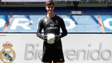 Куртуа поведал о том, как его приняли в мадридском «Реале»