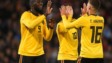 Бельгия разгромила Шотландию, дубль Батшуайи