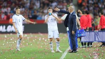 Черчесов прокомментировал победу сборной России