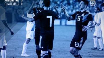 Аргентина без Месси разгромила Гватемалу