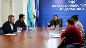 В Астане провели заседание Комитета, касательно развития женского футбола