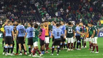 Красивый гол Суареса со штрафного в матче с Мексикой (видео)