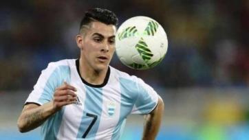 Симеоне забил гол в первом матче за сборную Аргентины