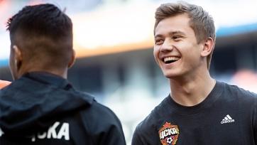 Обляков рассказал о своём переходе в ЦСКА и адаптации в стане армейцев
