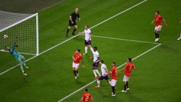 Сборная Испании одержала волевую победу над Англией
