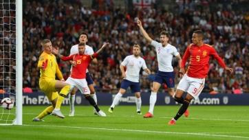 Сборная Англии проиграла на «Уэмбли» впервые за 11 лет