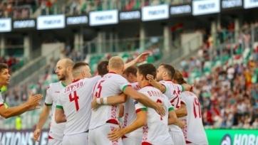 Футболисты «Астаны» и «Кайрата» приняли участие в разгромной победе Лиги Наций