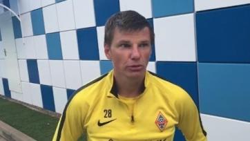 Аршавин пообщался с прессой касательно своей дальнейшей карьеры в «Кайрате»