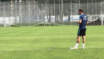 Маркизио провел первую тренировку в «Зените»