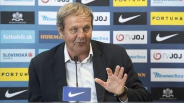 Тренер сборной Словакии об игре с Украиной: «Мы не заслуживали поражения»