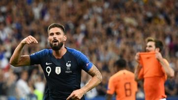 Жиру вышел на четвёртое место в списке бомбардиров сборной Франции