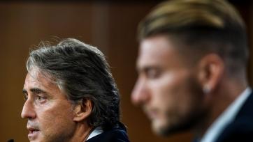 Манчини назвал 2 игроков, которые точно появятся в старте сборной Италии на матч с португальцами