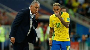 Наставник сборной Бразилии высказался в адрес Неймара