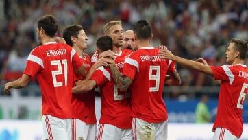 Россия разгромила Чехию в контрольном матче