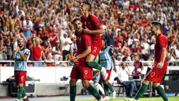 Сборная Португалии переиграла Италию