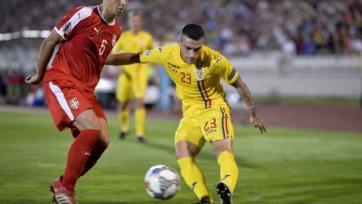 Сборные Сербии и Румынии победителя не выявили