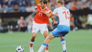 Ерохин: «Очень рад впервые забить за сборную России»