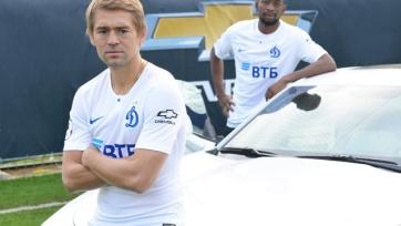 «Динамо» подписало контракт с Chevrolet