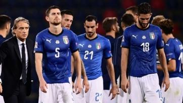 Италия вышла на матч без игроков «Ювентуса» впервые в 21 веке