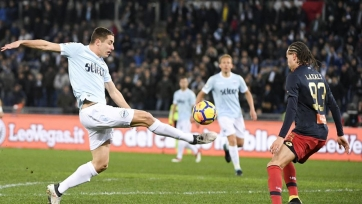 Защитник «Лацио» залечил травму и готов вернуться на поле