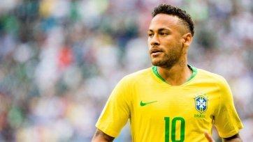 Неймар сделал три ассиста в матче сборной Бразилии