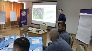 КФФ провела второй модуль обучения на тренерскую категорию С