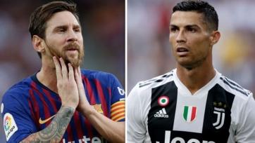 Стал известен рейтинг Роналду и Месси в FIFA 19