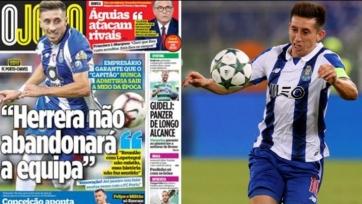 Эррера, которым интересуются «Реал» и «Арсенал», останется в «Порту»