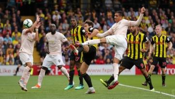 «Манчестер Юнайтед» на выезде переиграл «Уотфорд»