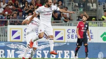 «Кальяри» и «Милан» поделили очки