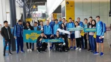 «Астана» отправилась в Киев