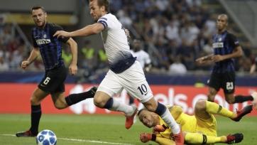 «Интер» обыграл «Тоттенхэм», забив 2 мяча в концовке
