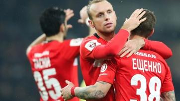 «Спартак» отправился на игру с «Рапидом», Глушаков и Ещенко остались в Москве