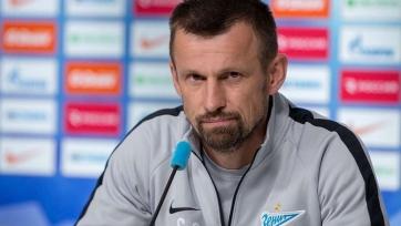 Семак поделился ожиданиями от поединка с «Копенгагеном» и рассказал о состоянии Жиркова