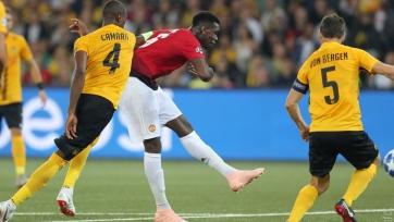 «Манчестер Юнайтед» разгромил «Янг Бойз», Погба оформил дубль
